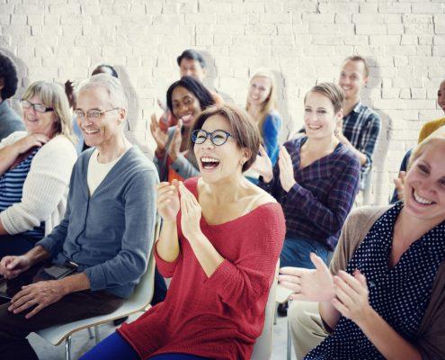 Public speakng training